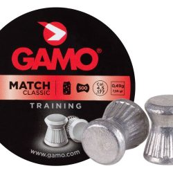 Gamo .177 7.56gr Match training flat nose pellet Tin of 500 $ 7.75