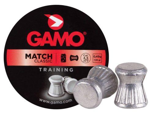 Gamo .177 7.56gr Match training flat nose pellet Tin of 500 $ 7.75