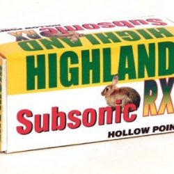 Highland 22 subsonic 36gr Hollow point Box of 50 $ 7.70