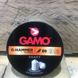 Gamo .22Cal 27.76gr G Hammer power heavy pointed Non waisted pellet Tin of 200 $ 10.45