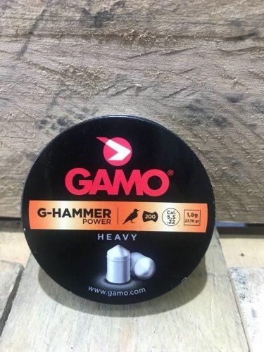 Gamo .22Cal 27.76gr G Hammer power heavy pointed Non waisted pellet Tin of 200 $ 10.45
