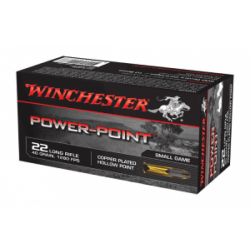 Winchester 22 Power Point Hollow point Pk of 50 $ 8.75