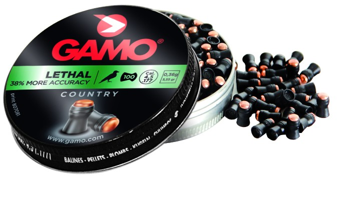 Gamo Lethal .177cal 5.55Gr lead free saboted pellet Tin of 100 $ 16.70