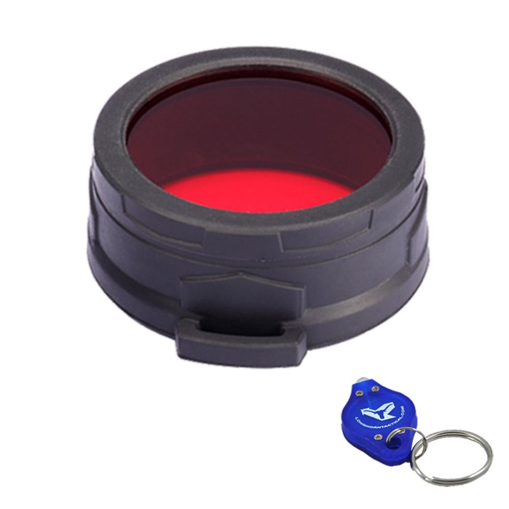 Nitecore 50mm Red Slip on filter $ 21.90