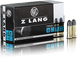 RWS 22 Z ammo 29gr Round nose Box of 50 $ 12.00