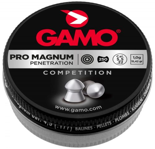 Gamo Pro match .22cal 15.43gr Flat nose competition pellet Tin of 250 $ 6.45