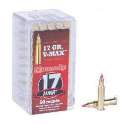 Hornady 17HMR loaded 17gr V-max Box of 50 $ 25.50