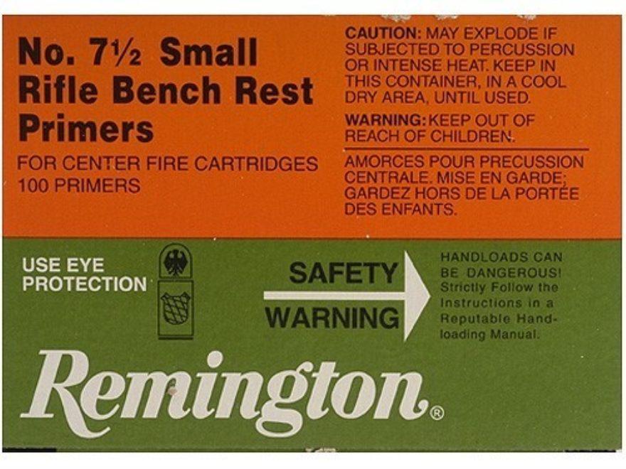 Remington 7.5 Small Rifle Primers $ 8.80