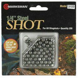 Marksman steel ball 1 4 inch Box of 250 $ 17.50