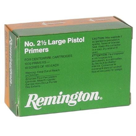 Remington 2 1 2 Large pistol primer tray of 100 $ 8.80