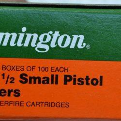 Remington small pistol primer no 1.5 tray of 100 $ 8.80