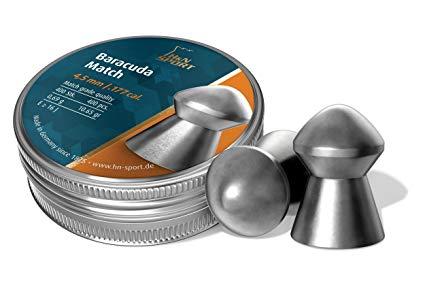 H&N 177 Baracuda 10.65gr Round nose air pellet Tin of 400 $ 24.65