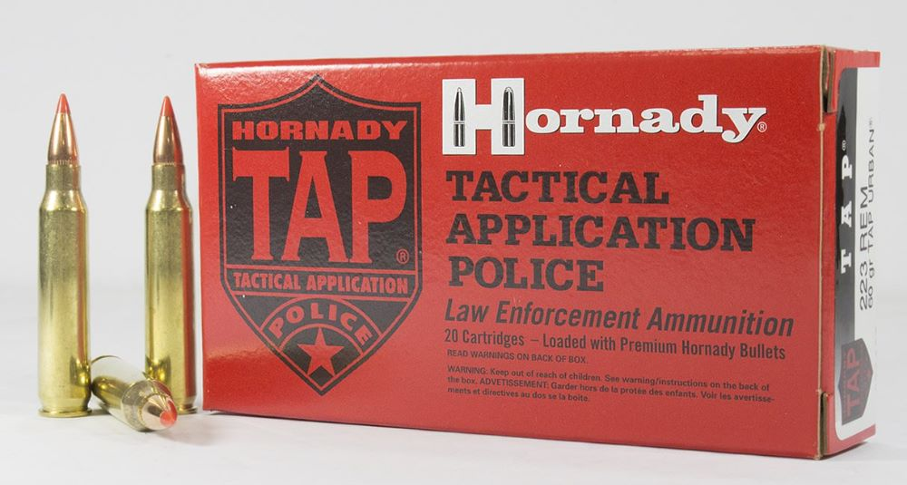Hornady .223 60gr Tap urban ammo Box of 20 single flash crimped primer $ 23.10