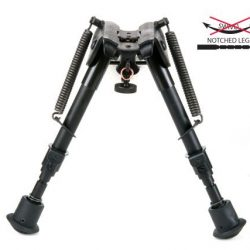 Night prowler 9 to 13 inch notched adjustable leg pivoting harris type bipod $ 99.00