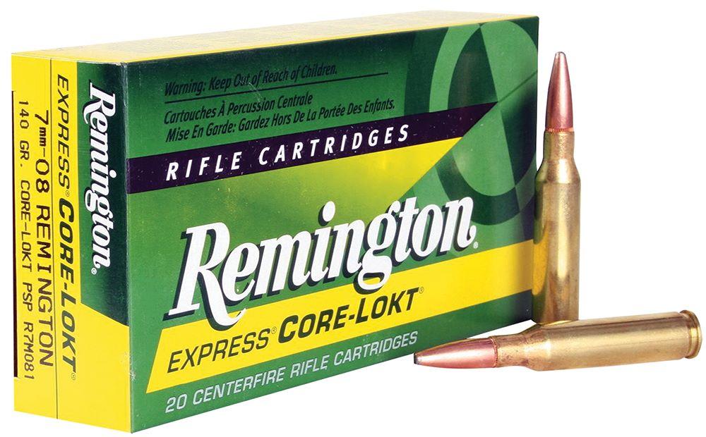 Remington 7-08rem 140gr Soft point Box of 20 $ 41.95