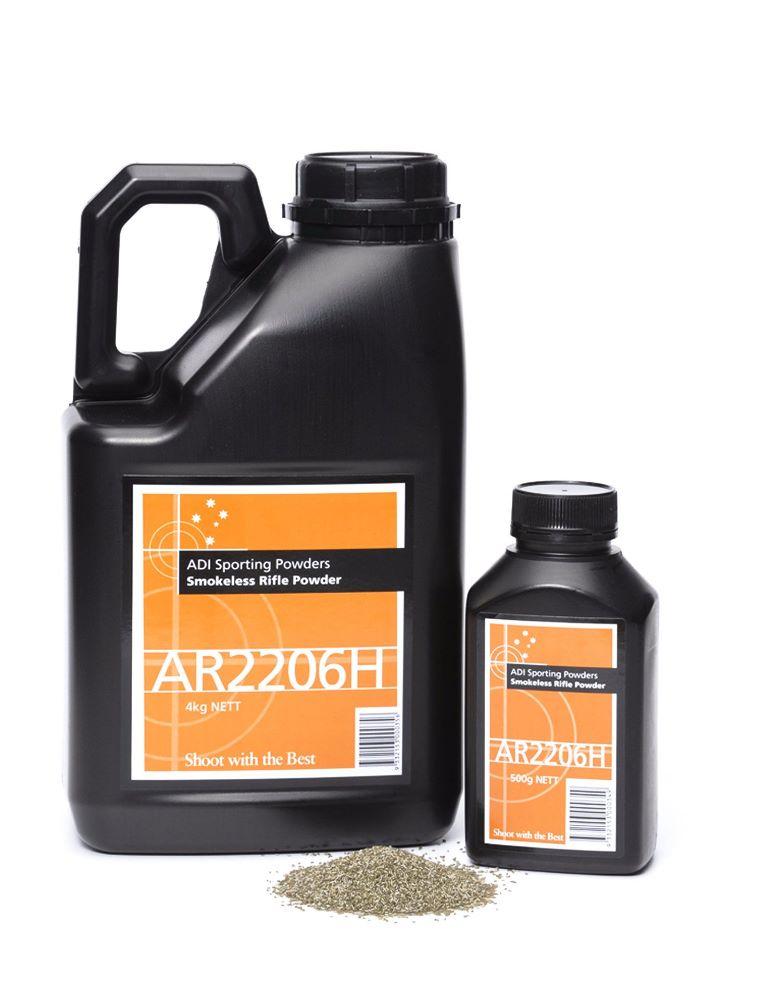 ADI Rifle powder AR2206H 4kg Bottle $ 411.00