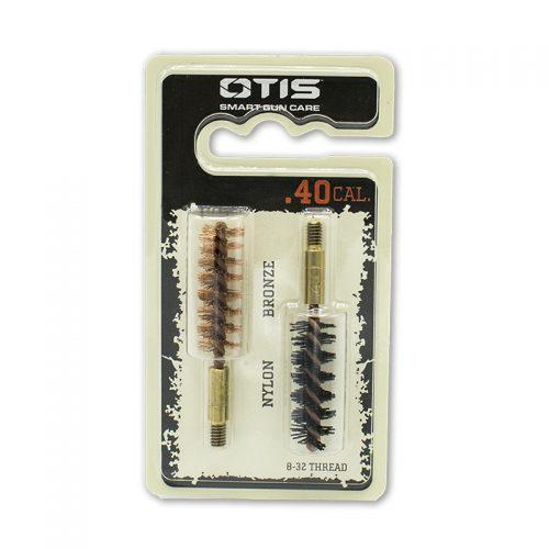 Otis 40 Calibre bronze and nylon brush set