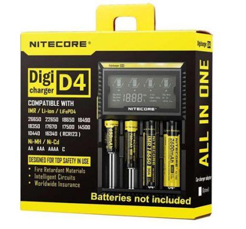 Nitecore 4 battery digital charger $ 75.45