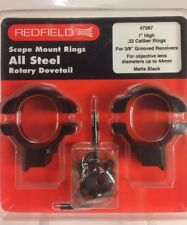 Max Hunter 1 inch high turn in redfield style scope rings Steel Hy skor base $ 32.60