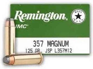 Remington .357 125gr JSP Box of 50 $ 69.70