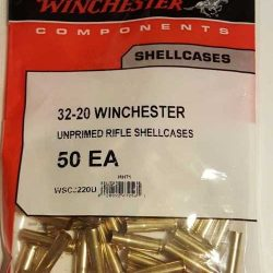 Winchester 32-20 Brass Bag of 50 $ 26.95