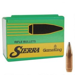 Sierra .224 65gr Boat Tail Soft point Game king projectile Box of 100 $ 51.00