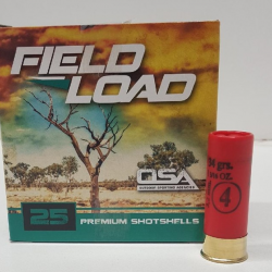 OSA 12Ga 34 gram shot size No6 Box of 25 $ 17.65