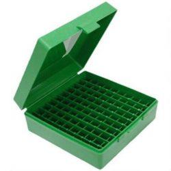 MTM Green 100 Round Hinged ammo box $ 13.20