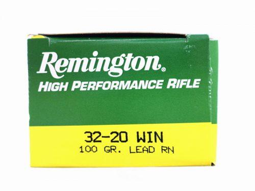 Remington 32-20 100gr Lead round nose Box of 50 $ 135.00