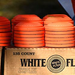 White Flyers standard size orange top biodegradable Box of 135 $ 33.25