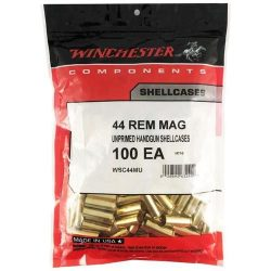 Winchester 44 Remington Medium brass bag of 50 $ 46.20