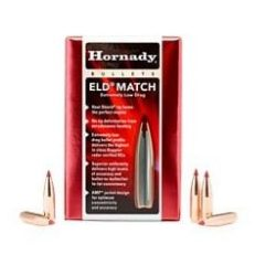 Hornady .264 - 6.5 140gr ELD-M Match grade plastic tipped Boat Tail Projectile .646BC Box of 100 $ 79.50