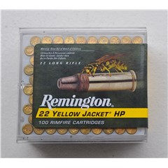 Remington .22 Hyper Vel Yellow Jacket Box of 100 $ 22.20