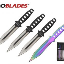 Aeroblades 4 knife double sided 104mm Throwing knife set $ 39.50