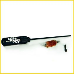 Tetra 1 piece 30cal cleaning rod 44 inch 8-32 female thread with muzzle guide ball bearing handle black $ 70.75