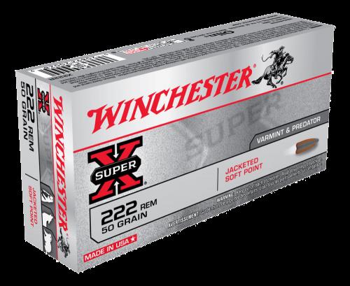 Winchester 222 Rem 50gr PSP $ 28.15