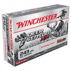 Winchester Deer season .243 95gr Extreme point ammo Box of 20 $ 38.75