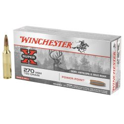 Winchester 270 150gr Power point Soft point Pack of 20 $ 40.50