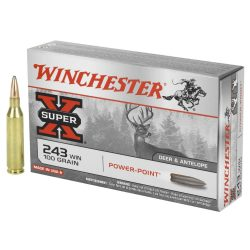 Winchester 243 win 100gr PP pack of 20 $ 35.20