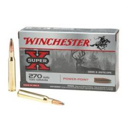 Winchester 270 130gr Power point $ 40.50