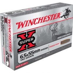 Winchester 6.5x55mm Swedish 140gr SP Pack of 20 $ 69.70