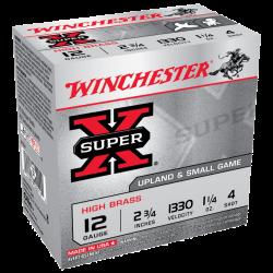 Winchester 12Ga 1.25Oz - 36gr shot size 4 1330fps Ribbed Cartridge high brass Box of 25 $ 20.80