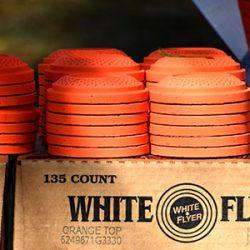 White Flyer Standard Size Orange top biodegradable Box of 135 $ 33.25