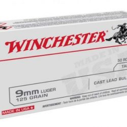 Winchester 9mm 125gr Lead round Nose Box of 50 $ 28.15