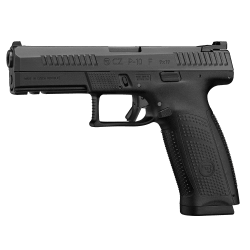 CZ P10 F 9mm double action only striker fired poly frame changeable back strap 120mm barrel $ 1180.00
