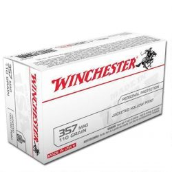 Winchester 357 Magnum 110 Jacketed Hollow Point box of 50 $ 82.75
