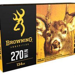 Browning 270win 134gr Rapid expanding matrix tip ammo box of 20 $ 41.60