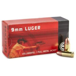 Geco 9mm 124gr Lead round nose electro plated brass cased ammo Box of 50 $ 34.40