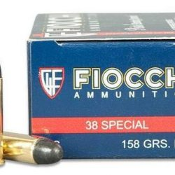Fiocchi 38 Special 158 Gr lead round nose brass cartridge ammo Box of 50 $ 47.00