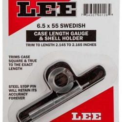 Lee 6.5x55 case length gauge and shell holder $ 16.70